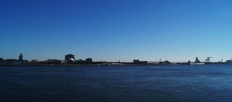 camden new jersey shoreline